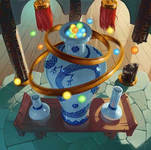 Vase oublié d'Yjang